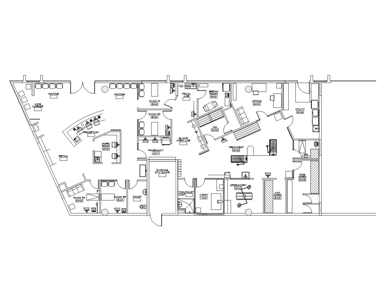 Vet Clinic Floor Plans: The DKC Veterinary Clinic—From Trials To Triumphs