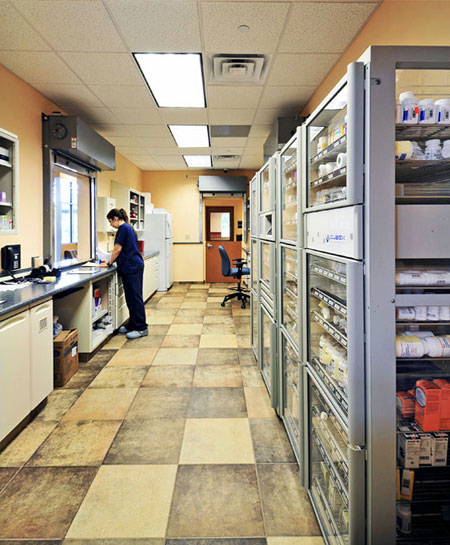 Veterinary hospital pharmacy