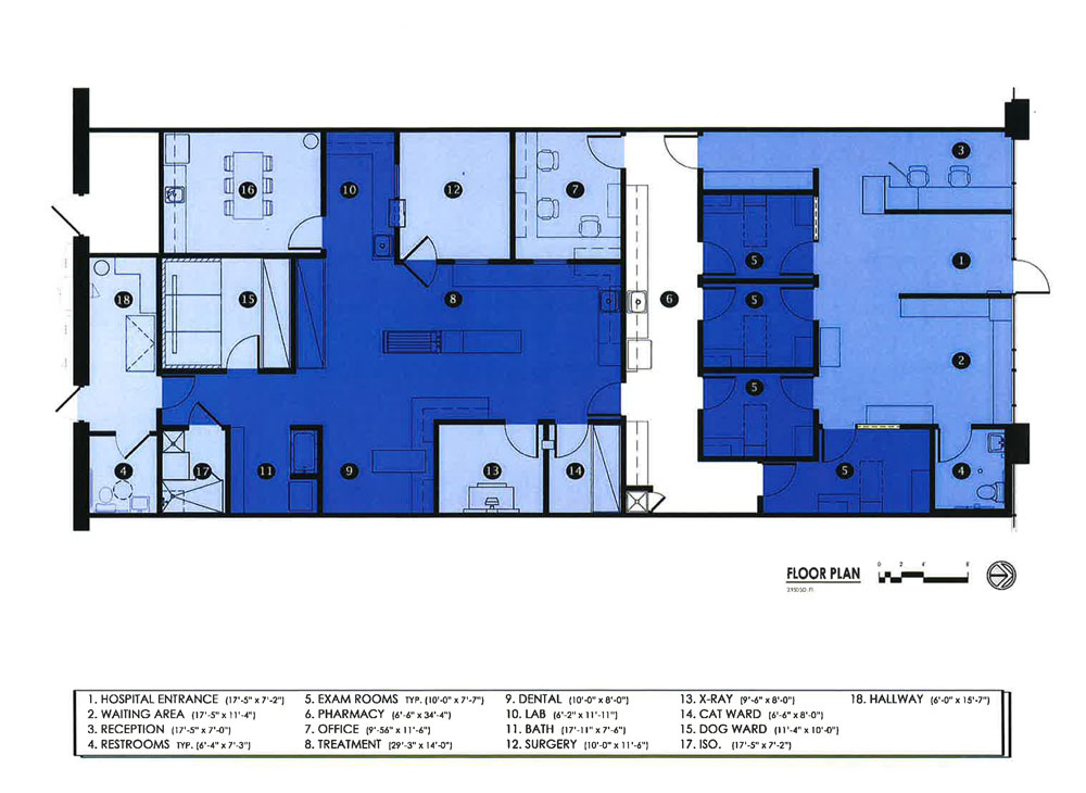 Vet Clinic Floor Plans Veterinary Design On A Dime A Young Veterinarian Built Ribble Vets In